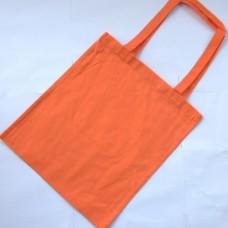 Bavlnená taška s dlhými ušami Oranžová pastel