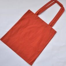 Bavlnená taška s dlhými ušami Tehlová