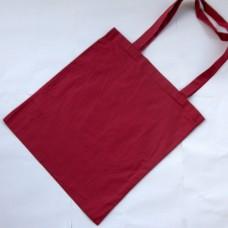Bavlnená taška s dlhými ušami Vínová