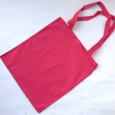 Bavlnená taška s dlhými ušami Cyklámenová