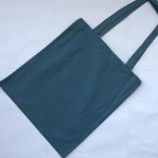 Bavlnená taška s dlhými ušami Sivomodra
