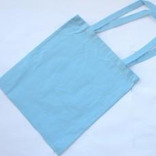 Bavlnená taška s dlhými ušami Modrá pastelová