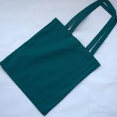 Bavlnená taška s dlhými ušami Petrolejová
