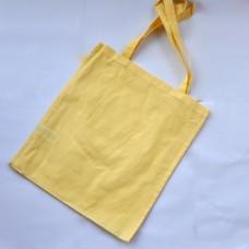 Bavlnená taška s dlhými ušami Žltá pastel