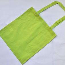 Bavlnená taška s dlhými ušami Žlto zelená