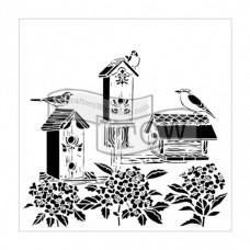 Šablóna TCW Bird house