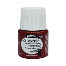 Farba na keramiku Garnet red / Červená granátová