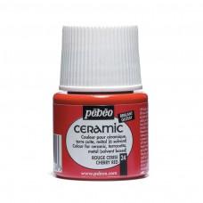 Farba na keramiku Cherry red / Červená čerešňa