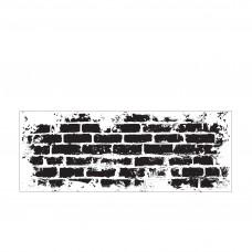 Silikónová pečiatka Kaisercraft Tehlový múr