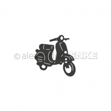Rezacia šablóna A. Renke Motocykel