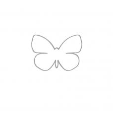 Rezacia šablóna A. Renke Motýľ