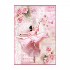 Ryžový papier A4 Dancer - Tanečnica