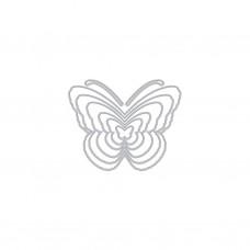 Rezacia šablóna A. Renke Motýle