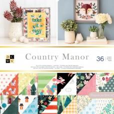 American craft obojstranný papier Sada country manor