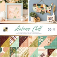American craft obojstranný papier Sada autumn chill