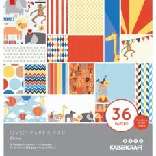 Kaisercraft obojstranný papier Sada Circus