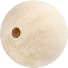 Drevené korálky 80 mm / 1 ks