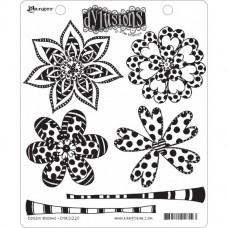 Gumená pečiatka Dylusions Doodle blooms