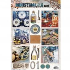 Papierové výseky Industrial 2.0 nr 612