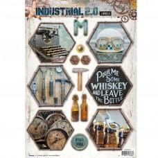 Papierové výseky Industrial 2.0 nr 613