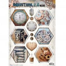 Papierové výseky Industrial 2.0 nr 614