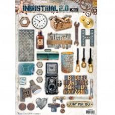 Papierové výseky Industrial 2.0 nr 615