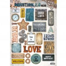 Papierové výseky Industrial 2.0 nr 616