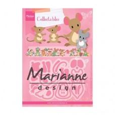 Marianne Design Myšacia rodinka