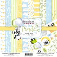 Fabrika Decoru obojstranný papier My little Panda boy 30x30 cm