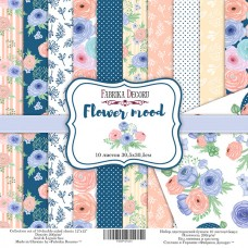 Fabrika Decoru obojstranný papier Flower mood 30x30 cm