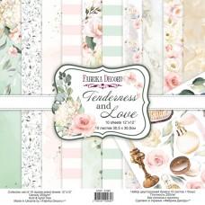 Fabrika Decoru obojstranný papier Tenderness and Love 30x30 cm
