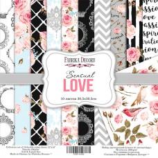 Fabrika Decoru obojstranný papier Sensual Love 30x30 cm