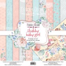 Fabrika Decoru obojstranný papier Shabby baby girl 30x30 cm