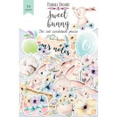Papierové výseky Fabrika Decoru Sweet bunny