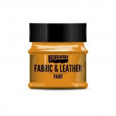 Farba na kožu a textil Oranžová