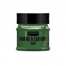 Farba na kožu a textil Zelená