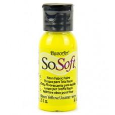 Farba na látku SoSoft Neon Yellow / Neónová žltá