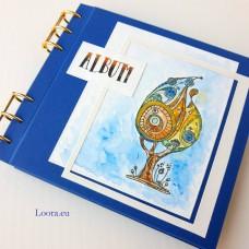 Album na fotky 16x16 cm Modrý