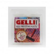 """Gel Printing Plate, Gélová podložka Kruhová 6"""""""