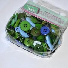 Gombíky Zelená