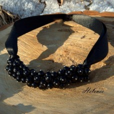 Náhrdelník Black Pearls