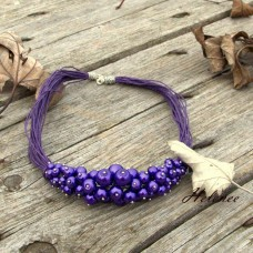 Náhrdelník Purple Berries