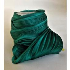 Hodvábna stuha Shibori Emerald