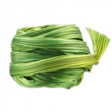 Hodvábna stuha Shibori Spring green Borealis