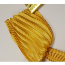 Hodvábna stuha Shibori Zlatá