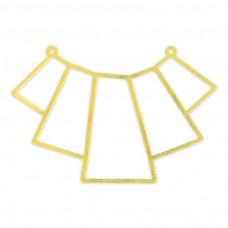 Spojovací komponent Prívesok zlatá 40 mm