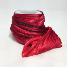 Hodvábna stuha Shibori Red