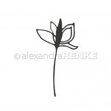 Rezacia šablóna A. Renke Kúzelný kvet 2