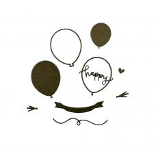 Rezacia šablóna A. Renke Šťastné balóny