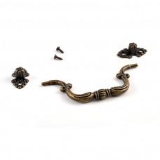 Kovová rúčka na šperkovnice Typ 2